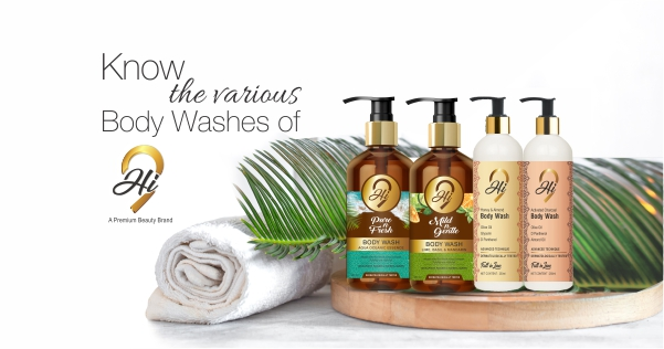 Know The Various Body Washes Of Hi9