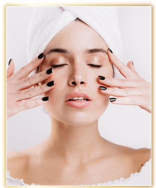 Take adequate quantity and massage gently with fingertips in a circular motion for 2-3 minutes, avoiding the eye contour area.