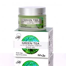 Green Tea With Active Mineral Complex Night Gel