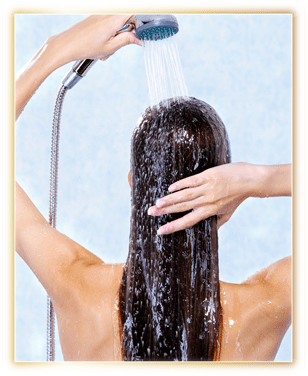 Wash off or can be left overnight as desired.