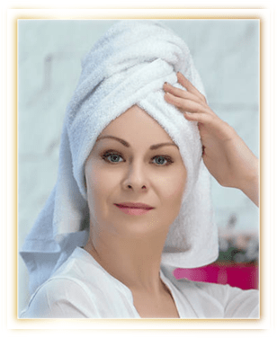 Apply onto towel dried or dry hair. Leave in