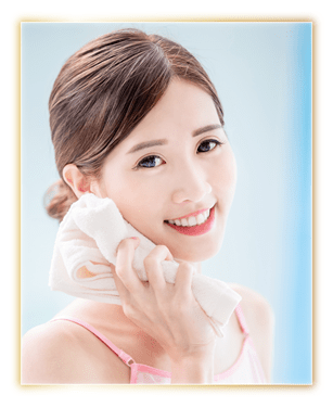After wash off, pat dry with a soft towel for a clean, refreshed and radiant look.